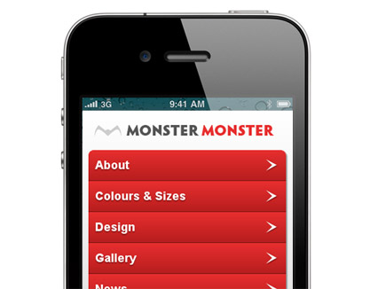 Monster Monster iPhone app