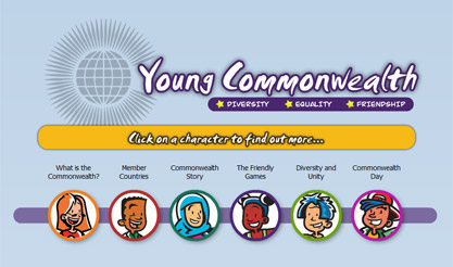 Young Commonwealth website